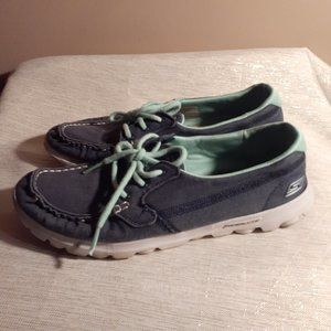 Skechers on the Go Clipper Goga Mat Boat Shoes 7.5